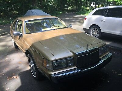 1984 Lincoln Mark Series Bill Blass 1984 Mark VII BILL BLASS Mint