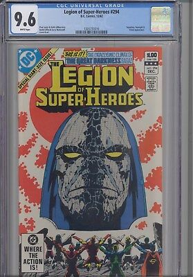 Legion of Super Heroes #294  CGC 9.6 1982 DC:  Orion Cover: New Frame