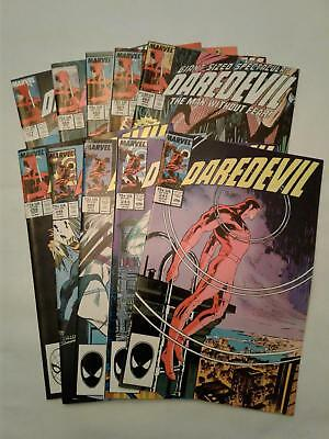 Daredevil #241 #243-245 #258 #260-262 #265 and #267 VF+ to NM- 10 BOOK LOT