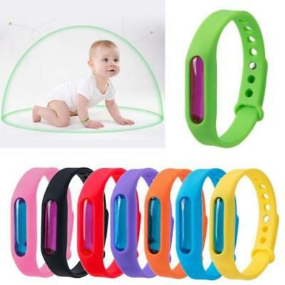 Anti Mosquito Pest Insect Bug Repeller Repellent Wrist Band Bracelet Summer Camp