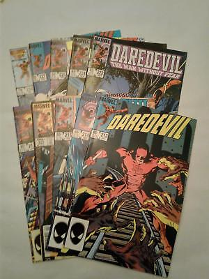 Daredevil #213-217 #222 #224 #225 #227 and #234 VF+ to NM 10 BOOK LOT