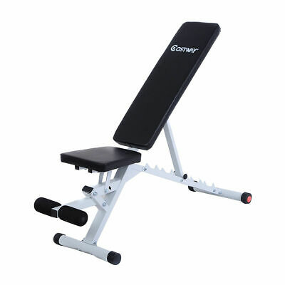 Adjustable Folding Sit Up Ab Incline Abs Bench Flat Fly Weight Press