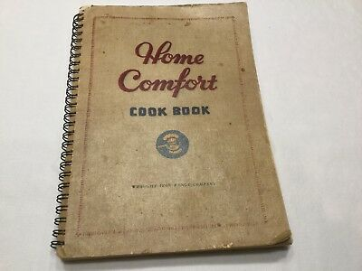 Vintage Cookbook-Home Comfort-Wrought Iron Range Company With Parts Lists