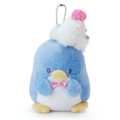 Tuxedosam Plush Mascot Holder Keychain Cafe Wagon Sanrio Japan