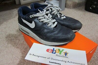 2005 NIKE AIR Max 1 Untold Truth Blue Grays grey US size 9