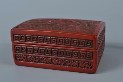 M1549: Japanese Dry lacquer CONTAINER for article Accessories Case Box