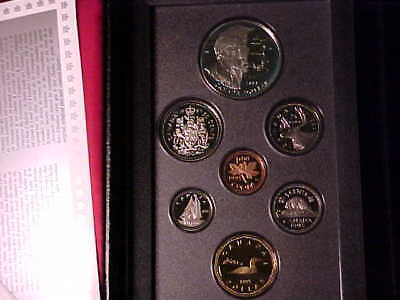 Canada Double Dollar Proof Set 1995 Hudson Bay Sterling Silver Dollar Sealed