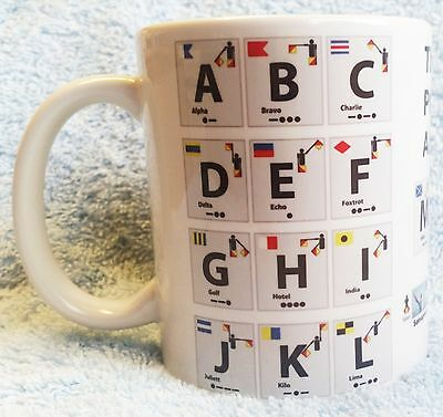 Nato phonetic alphabet morse on a mug ideal gift cb boat radio nato phonetic alphabet morse on a mug ideal gift cb ham radio altavistaventures Image collections