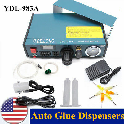 Solder Paste Auto Glue Dropper Digital Display Liquid Dispenser Controller 983A