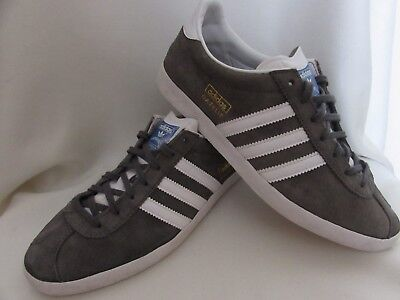 MENS OLDER boys adidas Gazelle OG trainers size UK 6 grey