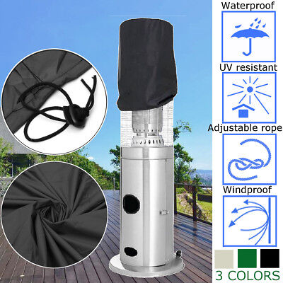 3Colors Area Heater Cover Waterproof UV Protect Outdoor Living Home Garden Patio