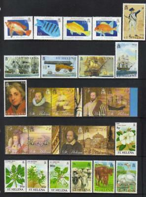 St Helena 1989-2005 Mh Selection Cat £41+