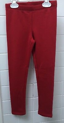 Kids Girls Size 4 / 5 Red Leggings US Target Brand Cat & Jack Stretch New NWOT