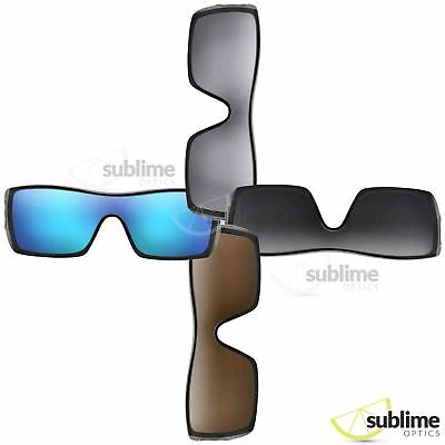 Oakley Batwolf Replacement Lenses - Polarized (Multiple Options)
