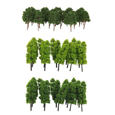 1/200 Model Trees & 1/150 Plastic Mini Scenery Landscape Trees