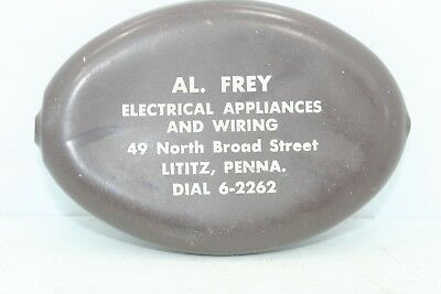 Vintage Advertising Change Rubber Squeeze Purse Al Frey Electrical Lititiz PA