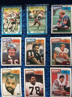 1987 Topps American Football Cards (lot of 32)
