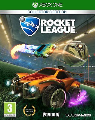 Rocket League Xbox One Collector's Edition Game Racing BRAND NEW & SEALED