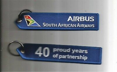 Porte Cle Flamme Airbus South African Airways Neuf - Nouveau
