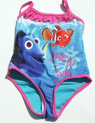 Finding Nemo Dory Disney Next Baby Girls Swimming Costume 9 12