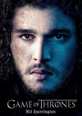 KIT HARRINGTON Actor PHOTO Print POSTER TV Series Game Of Thrones Jon Snow 002