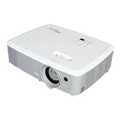 Optoma EH400 DLP Projector, 4000ANSI lumens, FHD 1080p, 3D Support, HDMI, VGA In