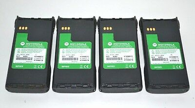 Lot of 4 Motorola NTN9857C  Impres Ni-MH Batteries, PR1500, XTS1500 .XTS2500