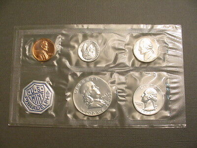 1963 US Silver Proof Coin Set In Original U.S. Mint Flat Cello Package