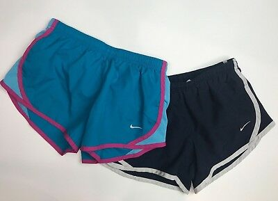 NIKE Youth Girls Running Shorts Size S Lot of 2