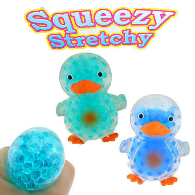 Quetschball Squeezeball Flutschi Pinguin Vogel Tier Bunt Glibber Ball Antistress