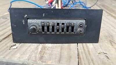 kenwood graphic equalizer kgc 4042a old school vintage baby rh picclick com Kenwood KGC 9044 Equalizer Kenwood Car Equalizer