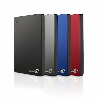 Seagate Backup Plus Slim Portable, externe tragbare Festplatte, USB 3.0, PC 2TB