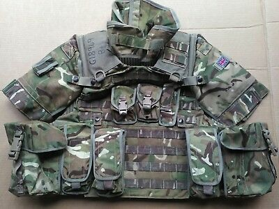 SPECIAL OFFER!! MTP Osprey MK4 Body Armour Vest + Pouches + Accessories 180/104
