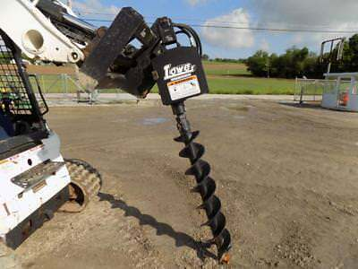 New/unused Lowe 750 Post Hole Digger For Skid Steer Loaders, Ssl Quick Attach
