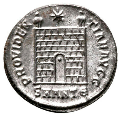 CONSTANTINE THE GREAT (330-334 AD) Rare Follis. Antioch #IU 11224