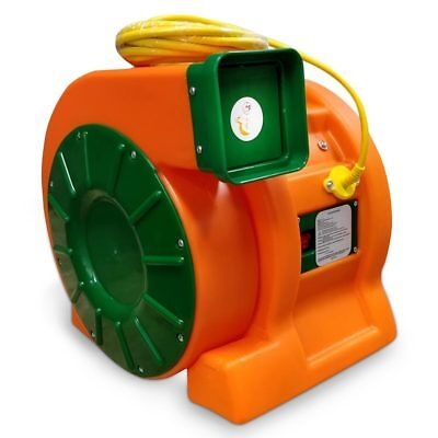 Cyclone 1.5 HP Commercial Inflatable Blower Air Pump Fan Heavy Duty 12.9 Amp