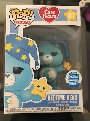Funko Pop 357 Care Bears Bedtime Bear Vaulted Limited Edition Rare