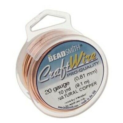 10 yard Spool Tarnish Resistant Copper Wrapping Wire / 20 gauge