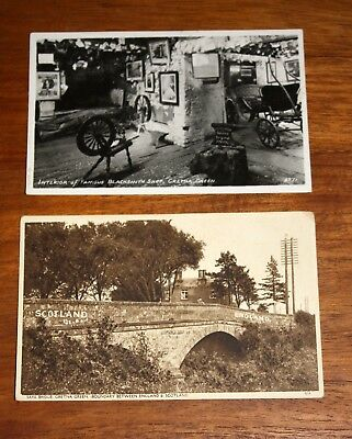 Pair of Vintage Postcards of Gretna Green Scotland