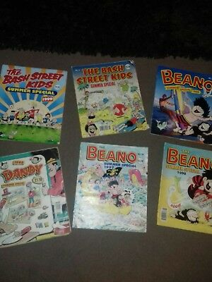 joblot/bundle of beano, dandy and other summer special comics