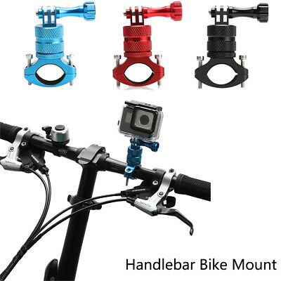 360°Handlebar Bike Mount Roll Bar Seatpost Adapter For GoPro Hero 2 3+ 4 5 6 UK