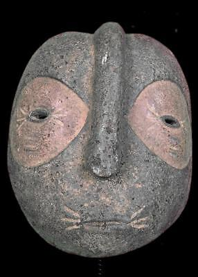 Old Tribal ibiobio  Mask      -- Nigeria