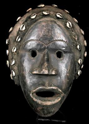 Old Tribal Dan Headdress   Mask      -- Coted'Ivoire
