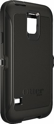 Genuine OtterBox Defender Case & Holster for Samsung Galaxy S5 Black New