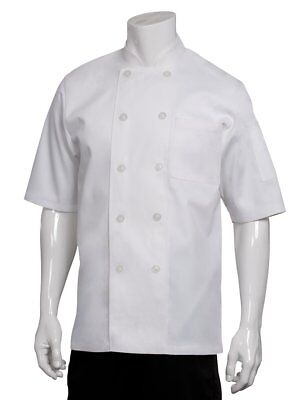 Chef Works Men's Volnay Chef Coat