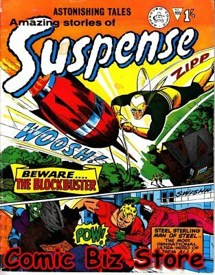 Astonishing Stories Of Suspense #105 (1966) 1St Print Uk Silver Age Alan Class