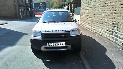land rover freelander 1.8 petrol gas converted 2002 (52 plate) spares or repairs