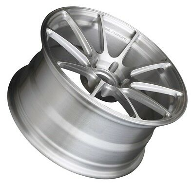 18x9 XXR 527F 5x114.3 +35 Brushed Forged Rims New Set