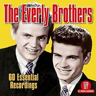 The Everly Brothers - 60 Essential Recordings [New CD] UK - Import
