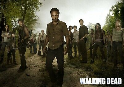 THE WALKING DEAD TV Show PHOTO Print POSTER Series Cast Art Rick Grimes Daryl 15